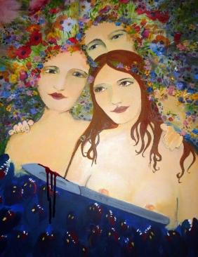 Al filo de la navaja [mis monstruos, ellas y yo] | Marcela Libonatti
